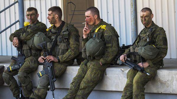 Солдаты в Эстонии