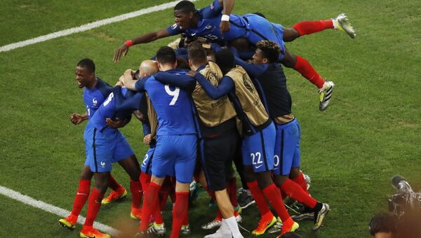 Матч Франция - Албания