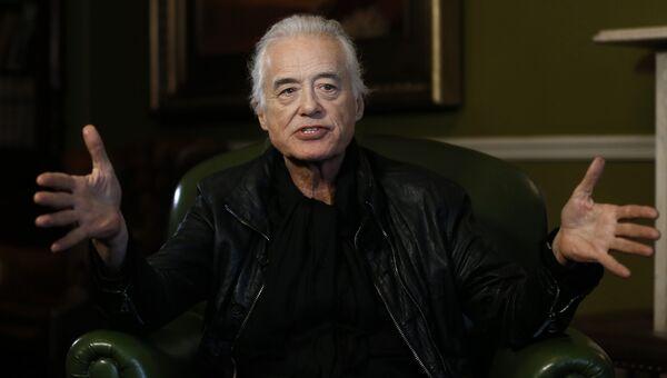Гитарист группы Led Zeppelin Джимми Пейдж