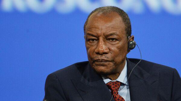 Президент Гвинейской Республики Альфа Конде