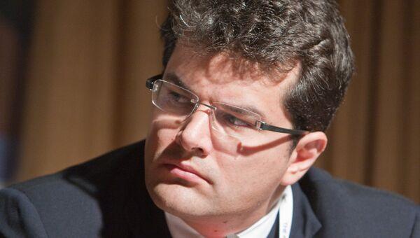 Первый зампред–член правления ВЭБа Николай Цехомский. Архивное фото