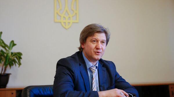 Секретарь Совета национальной обороны и безопасности Украины Александр Данилюк