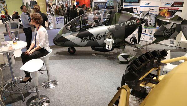 Международная выставка вооружений EUROSATORY в Париже