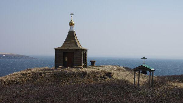 Остров Матуа из Курильской гряды
