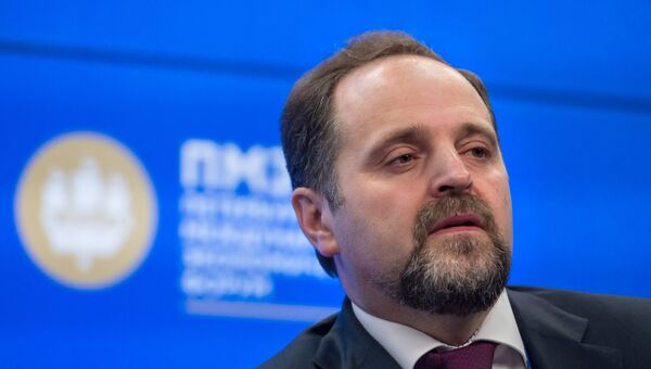 Министр природных ресурсов и экологии Российской Федерации Сергей Донской. Архивное фото