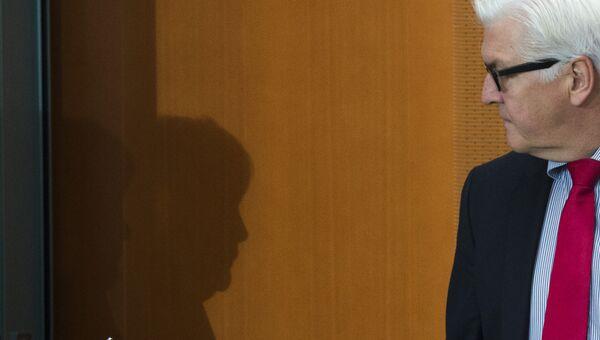 Глава МИД Германии Франк-Вальтер Штайнмайер. Архивное фото