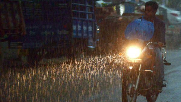 Дожди в Амритсаре, Индия