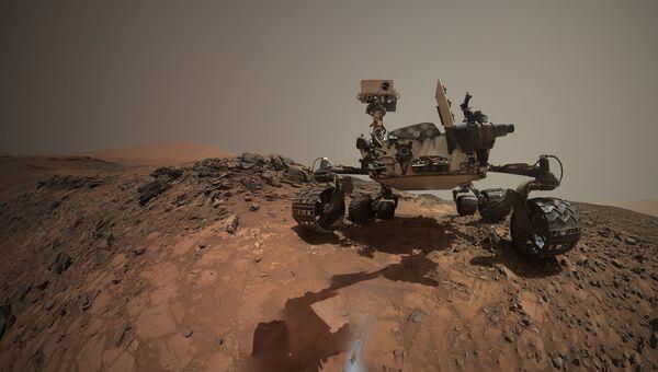 Очередное селфи марсохода Curiosity