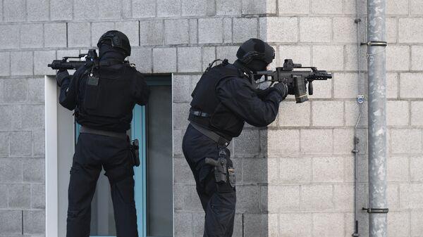 Сотрудники правоохранительных органов Германии