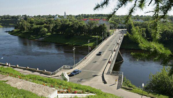 Мост через Волгу. Архивное фото
