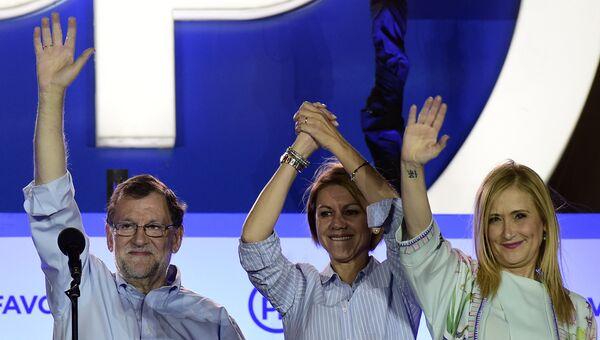 Представители правой Народной партии Испании. Архивное фото