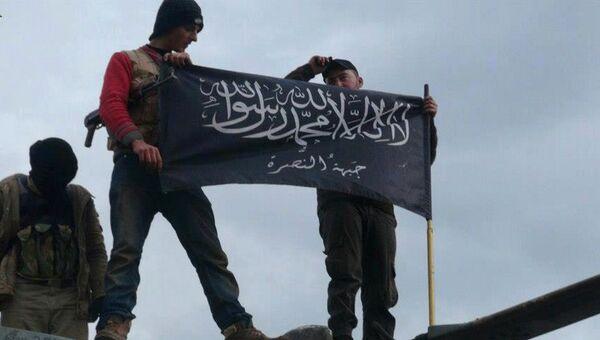 Боевики террористической группировки Джебхат ан-Нусра. Архивное фото