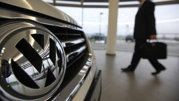 Работа завода Volkswagen в Калуге. архивное фото