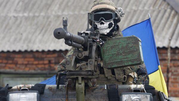 Солдат ВСУ. Архивное фото