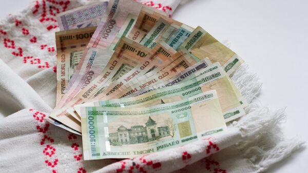 Белорусские деньги. Архивное фото