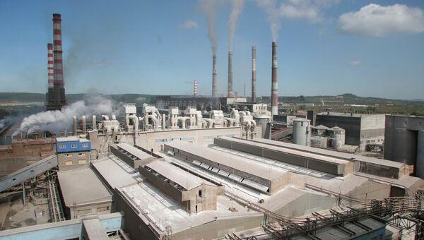 Богословский алюминиевый завод, принадлежащий компании Русал. Архивное фото