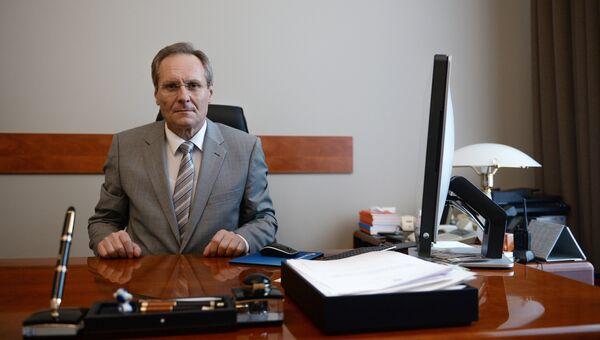 Посол Молдавии в РФ Думитру Брагиш