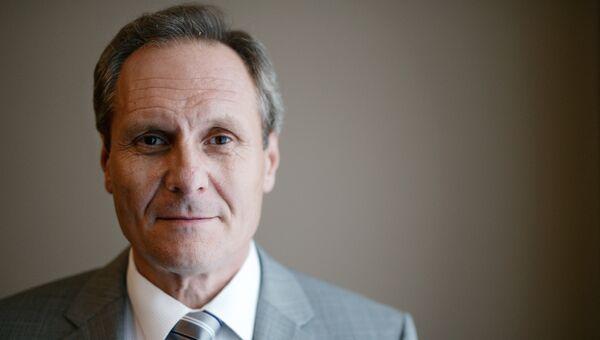 Посол Молдавии в РФ Думитру Брагиш. Архивное фото