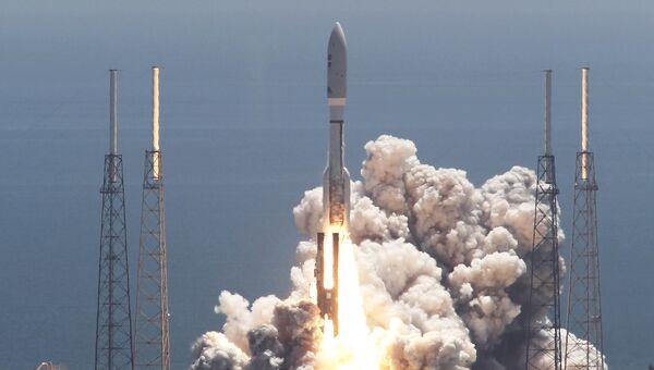 Запуск ракеты-носителя Atlas V. Архивное фото