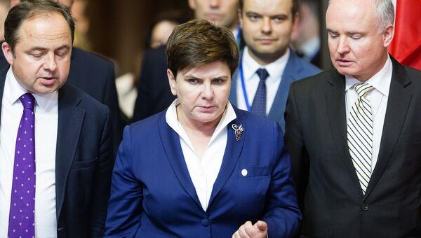 Премьер-министр Польши Беата Шидло. Архивное фото