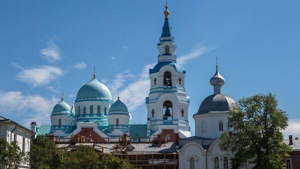 Собор Преображения Господня Валаамского Спасо-Преображенского монастыря. Архивное фото