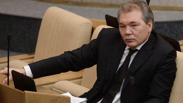 Первый заместитель председателя комитета Государственной Думы РФ по международным делам Леонид Калашников