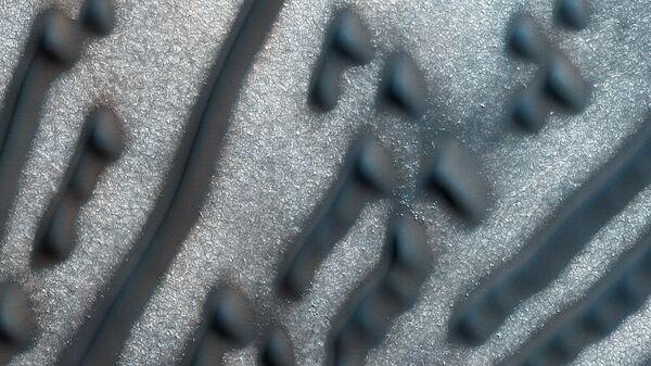 Послание азбукой Морзе на поверхности Марса
