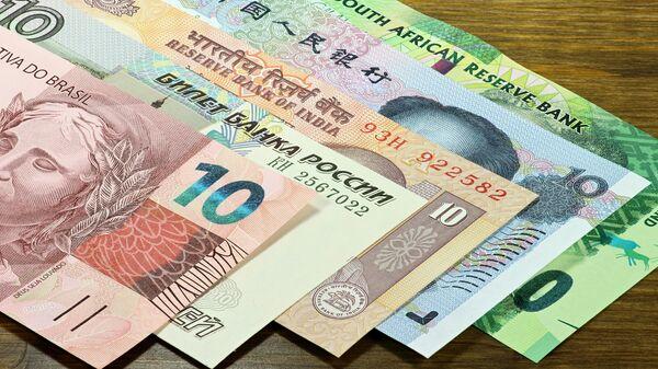 Национальные валюты стран-участниц БРИКС