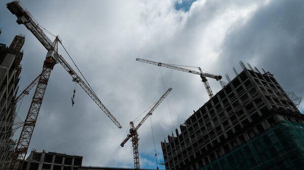 Строительство жилого комплекса. архив