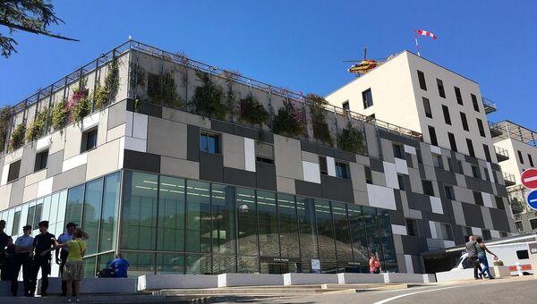 Госпиталь, в котором лежат раненные при теракте в Ницце