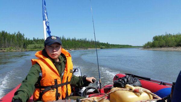 Экспедиция Полюс холода на реке Делкью
