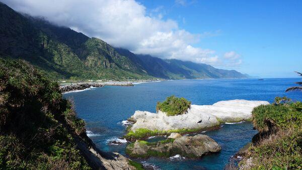 Побережье острова Тайвань