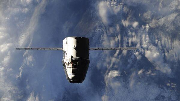 Прибытие космического грузовика Dragon к МКС. 20 июля 2016