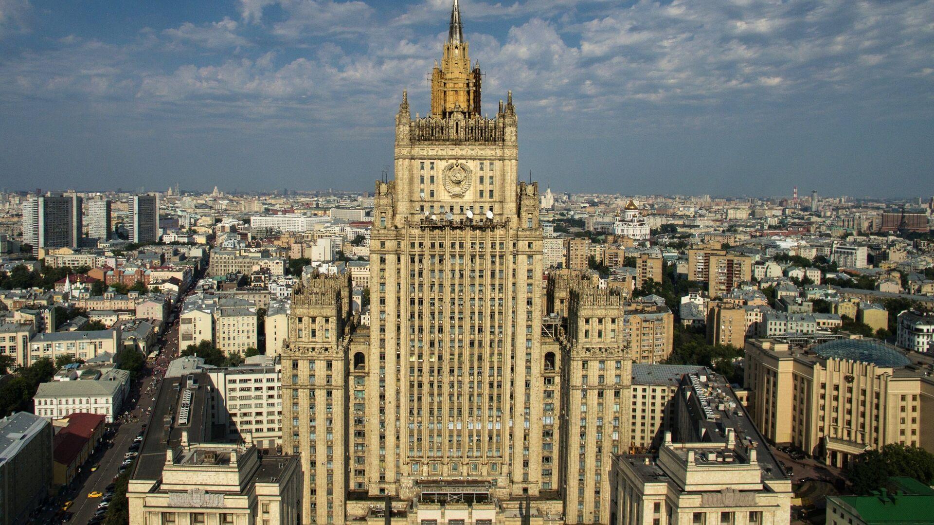 Здание министерства иностранных дел России в Москве - РИА Новости, 1920, 23.04.2021