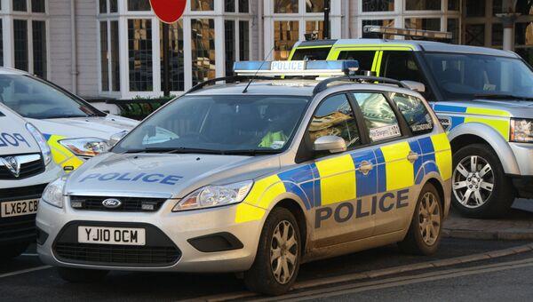 Полицейская машина в Великобритании. Архивное фото