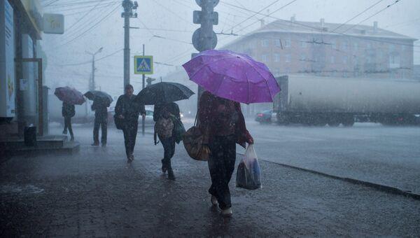 Ситуация в Омске. Архивное фото