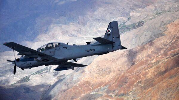Самолет ВВС США A-29 Super Tucano