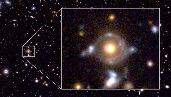 Космический глаз Гора. Фотография с телескопа Субару