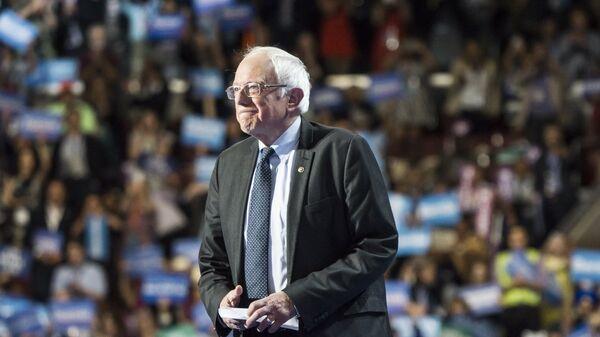 Бывший кандидат в президенты США, сенатор Берни Сандерс