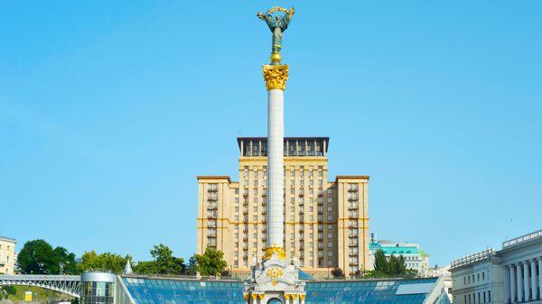 Монумент Независимости на Майдане Незалежности в Киеве. Архивное фото