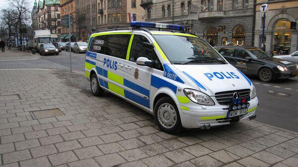 Автомобиль шведской полиции