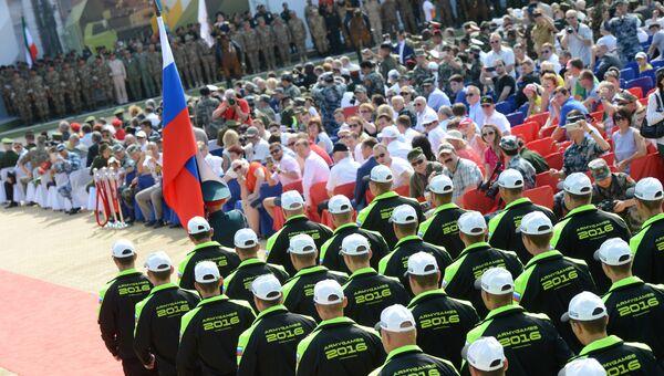 Открытие Армейских международных игр - 2016