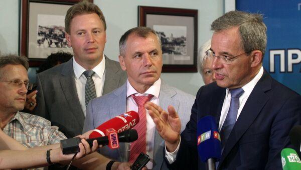 Делегация французских парламентариев в Севастополе