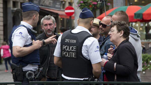 Сотрудники бельгийской полиции. Архивное фото