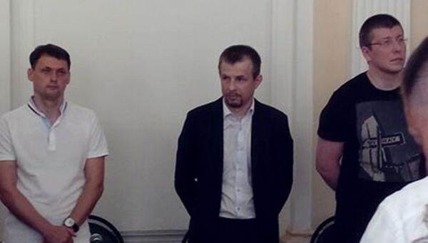 Оглашение приговора временно отстраненному от должности мэру Ярославля Евгению Урлашову
