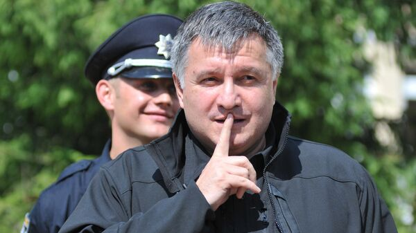 Министр внутренних дел Украины Арсен Аваков. Архивное фото