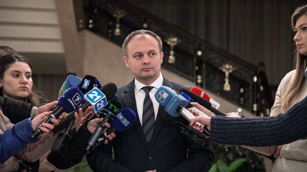 Председатель парламента Республики Молдова Андриан Канду