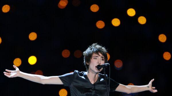 Певица Земфира выступает на церемонии закрытия XXVII Всемирной летней Универсиады 2013