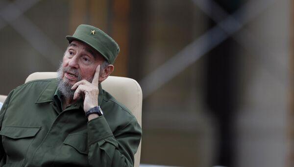 Лидер кубинской революции Фидель Кастро. Архивное фото