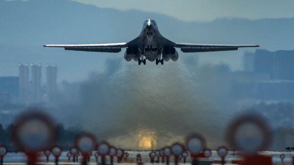 Стратегический бомбардировщик ВВС США. Архивное фото